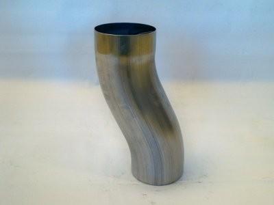 Sockelknie Etagenbogen aus Titanzink