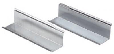 1 Paar Grömo Verlängerungen für Kaminverwahrung aus Titanzink
