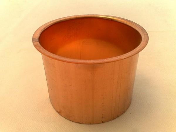 Lötstutzen / Kastenform aus Kupfer