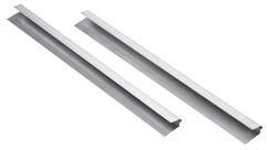 1 Paar Überhangsteckrahmen Verlängerungen aus Titanzink