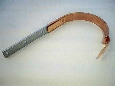 Rinnenhalter / Halbrund / Kupfer ummantelt