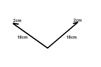 Kehlblech / Traufblech / aus Kupfer / 2m lang