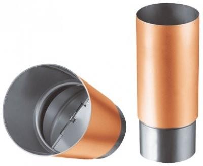 Geruchsverschluss DN 100 in Kupfer