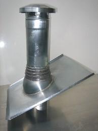 Belüftungsrohr / Entlüftungsrohr / Dunstabzug - Grundplatte