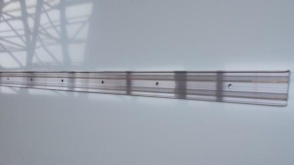 Alu Kappleiste / Klemmschiene / Wandschlußleiste 3m lang