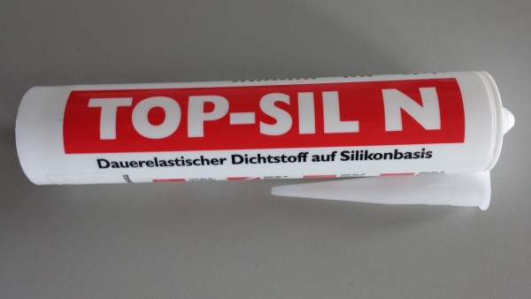 Silikon Top-Sil N transparent, 310 ml Kartusche