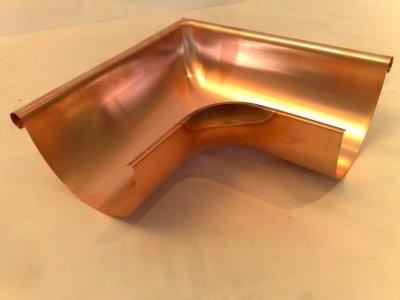 Rinnenwinkel Außen / 90 Grad / aus Kupfer