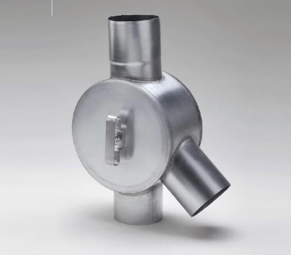 Zink Fallrohr Wasserverteiler Wasserweiche